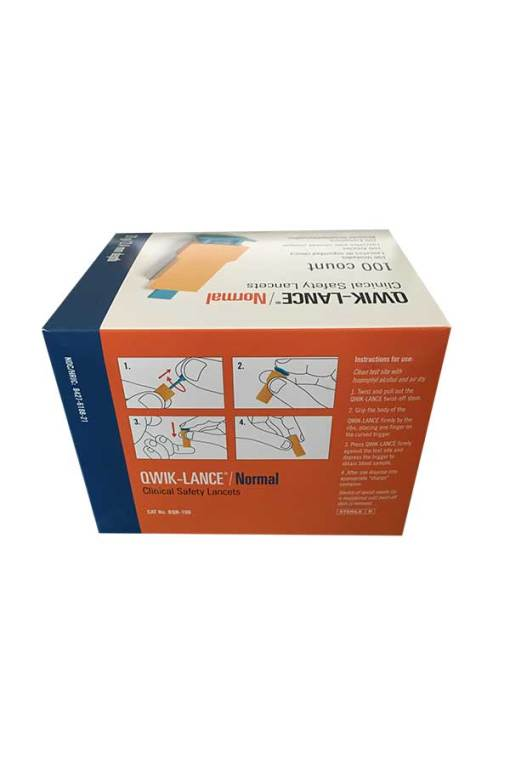 STAT AUTO CLINICAL SAFETY LANCETS 100ct.