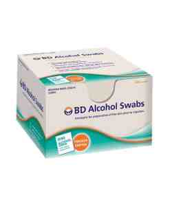 BD ALCOHOL SWABS 100ct.