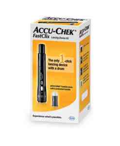 ACCU-CHEK FASTCLIX LANCING DEVICE KIT (INCLUDES 2 DRUMS)