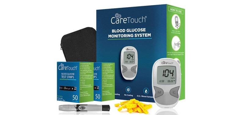 Caretouch-glucose-meter-kit