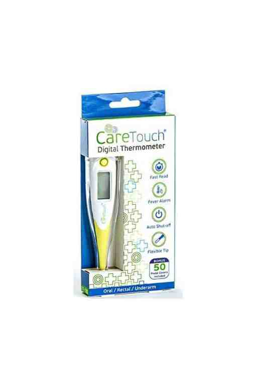 Caretouch-digital-thermometer-with-50-probe-covers