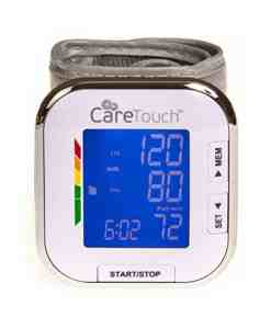 CARETOUCH FULLY AUTOMATIC WRIST BLOOD PRESSURE MONITOR PLATINUM SERIES 5.5″ – 8.5″ CUFF SIZE