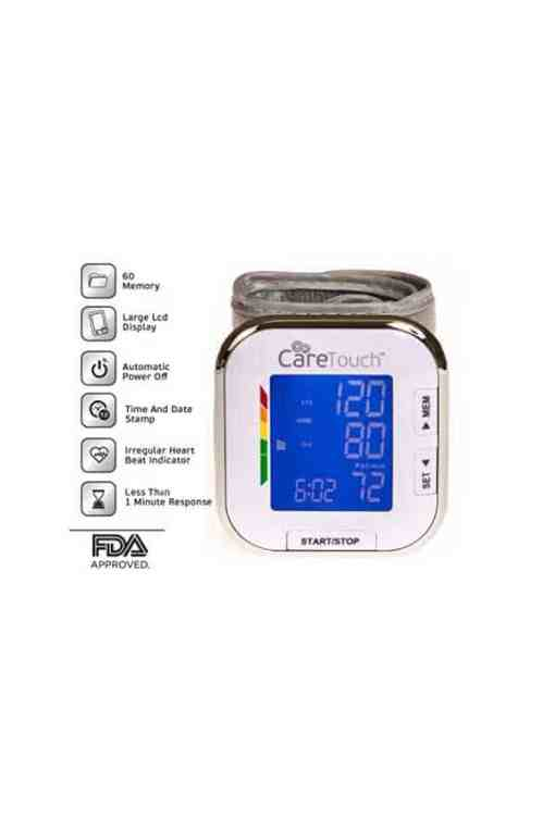 CareTouch-blood-pressure-monitor-cuff-wrist