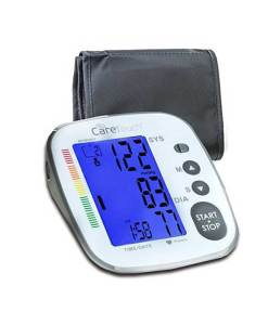 CARETOUCH FULLY AUTOMATIC ARM BLOOD PRESSURE MONITOR PLATINUM SERIES 8.5″ – 16.5″ CUFF SIZE