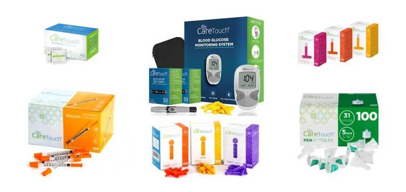 Caretouch-diabetes-products