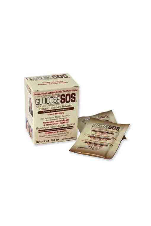 GLUCOSE SOS FOR RAPID GLUCOSE RECOVERY