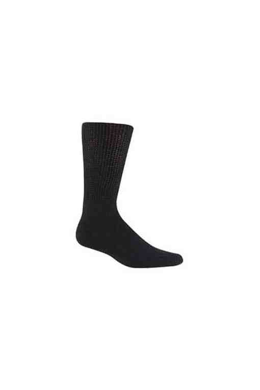 DiaSox-Black-Diabetic-Socks