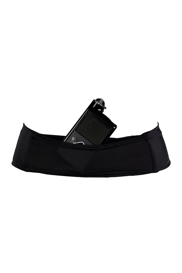 Glucology Insulin Pump Elastic Belt Color Black-Size Size Medium