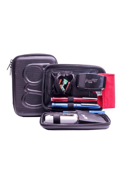 Glucology diabetes travel case black