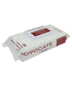 Advocate premoistened washcloths