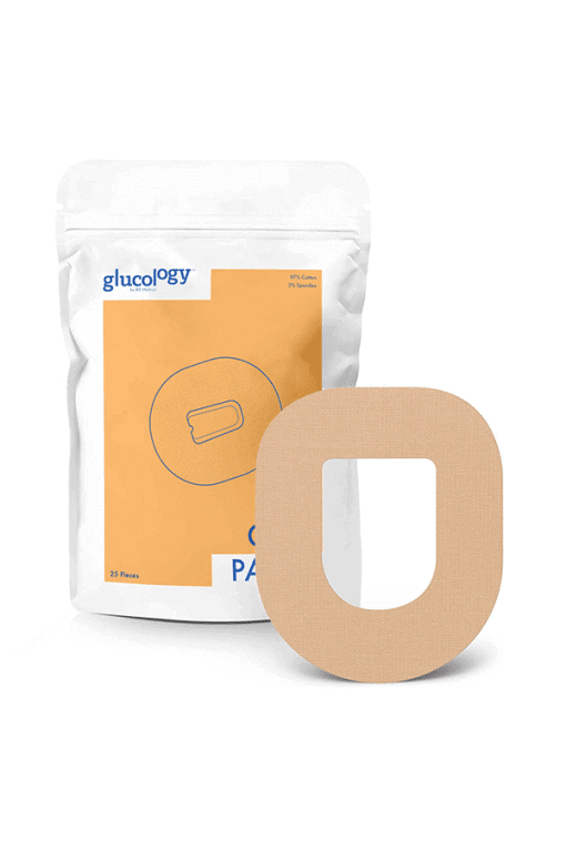 glucology omnipod patches beige