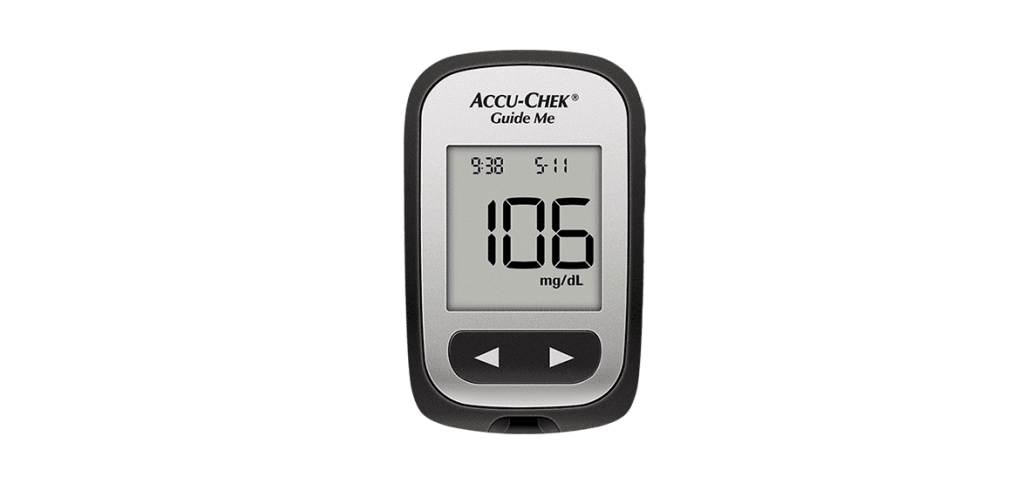 accu-chek guide me blood glucose meter
