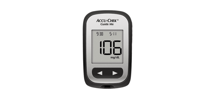 accu-chek guide me blood glucose meter