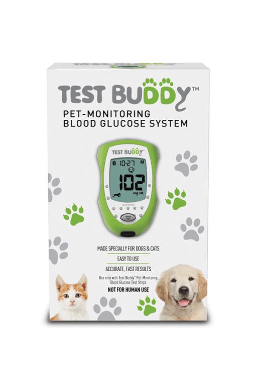 Test Buddy Pet Glucose Meter Kit