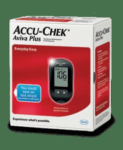 ACCU-CHEK aviva plus glucose meter kit
