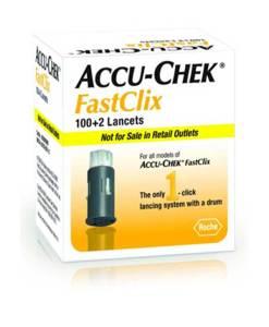 ACCU-CHEK FASTCLIX LANCETS 102ct.