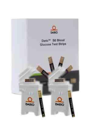DARIO TEST STRIPS 50ct. (2 Cartridges)