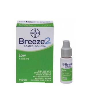 BAYER BREEZE2 CONTROL SOLUTION LOW LEVEL 2.5ml