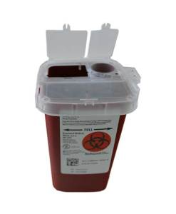 Medtronic AutoDrop Sharps Container 1 qt