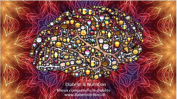 diabète, sucre, drogue, addiction, alimentation, cerveau