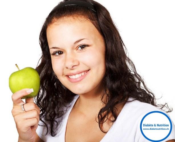 fruits, diabète, pomme, nutrition, fleur, glycémie, IG