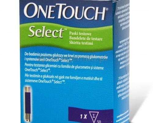 Opakowanie 50 pasków testowych One touch select