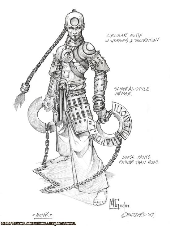 Illustration tirée du développement de Diablo III
