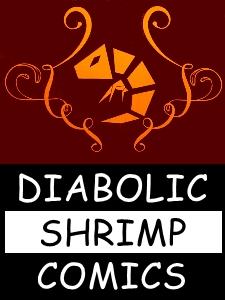 Diabolic Shrimp Comics Logo
