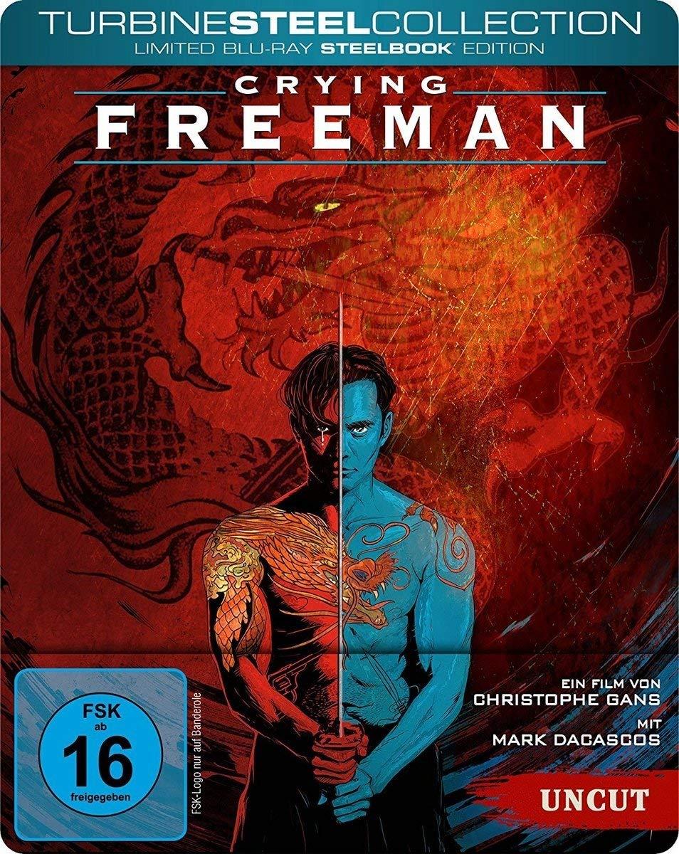 Crying Freeman (film) : crying, freeman, (film), Crying, Freeman, (Steelbook, Blu-Ray, Region), DiabolikDVD