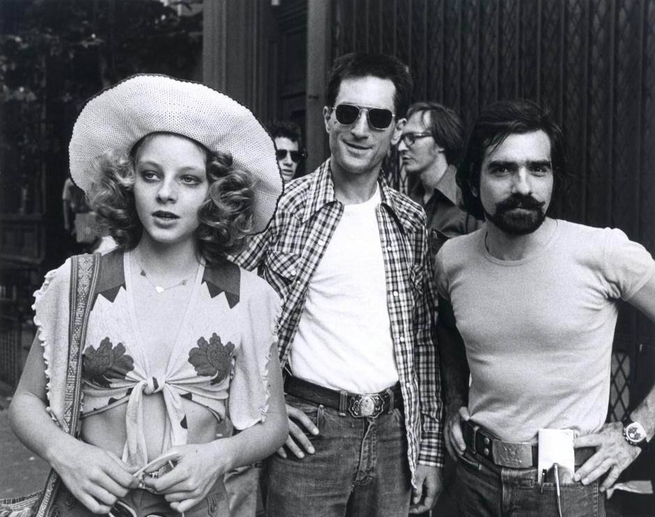 Jodie Foster, Robert De Niro et Martin Scorsese, Taxi Driver, 1976. Martin Scorsese Collection, New York.