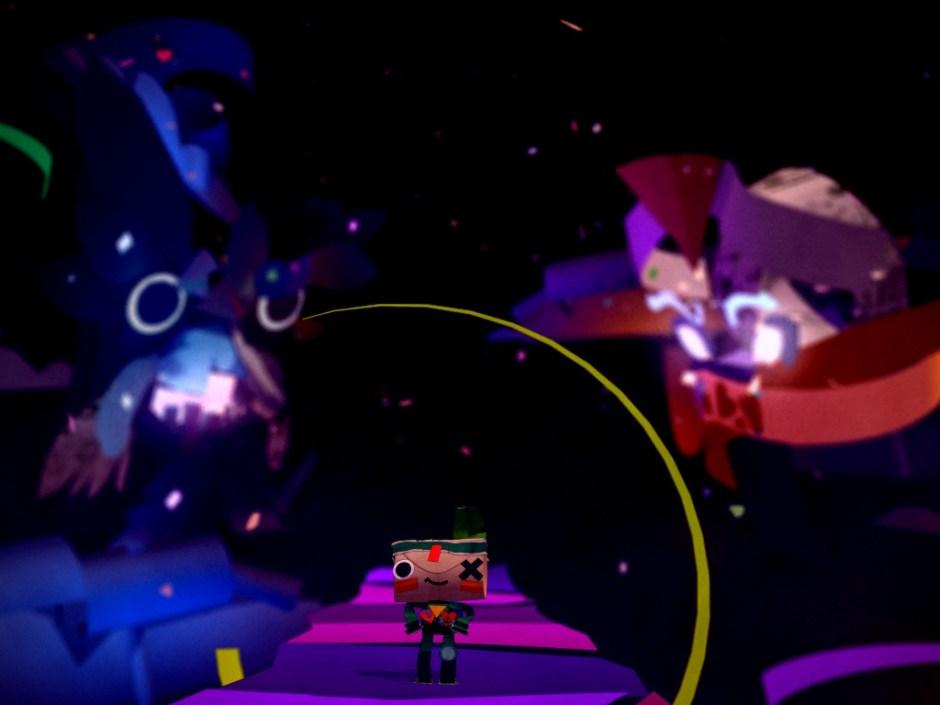 Capture d'écran du jeu Tearaway Unfoled