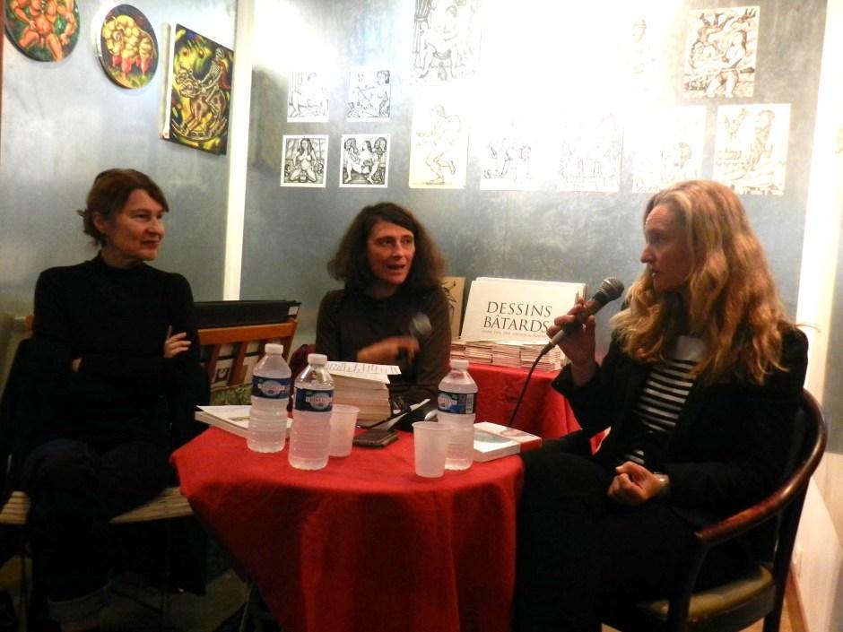 Jane Sautière, Gaëlle Bantegnie et Sophie Quetteville au Monte-en-l'air © Aurélie Garreau