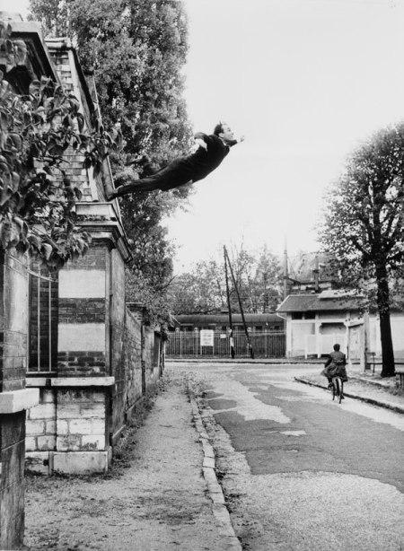 Yves Klein, Saut dans le vide
