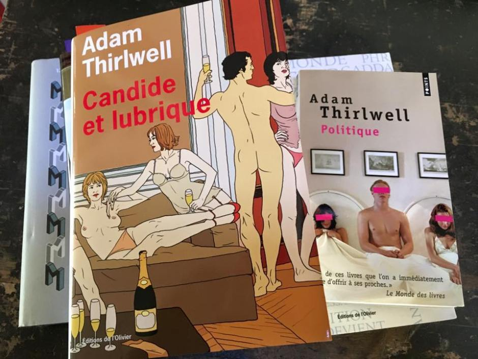Adam Thirlwell © Christine Marcandier