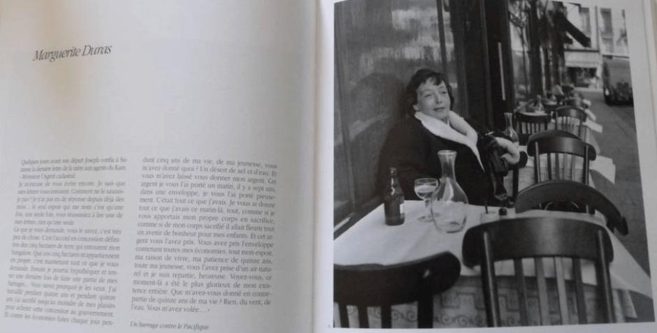 Une page de Mes gens de plume (Robert Doisneau, éd. La Martinière)