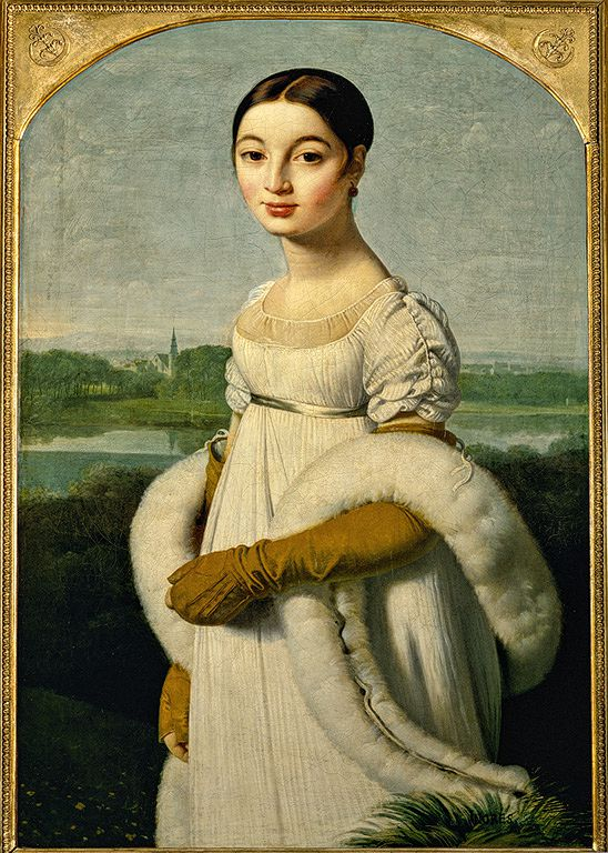 Ingres, Portrait de Caroline
