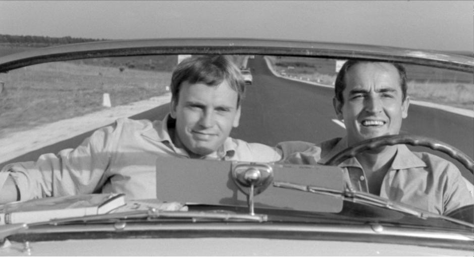 Vittorio Gassman et Jean-Louis Trintignant dans Il Sorpasso