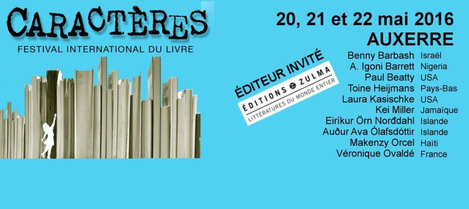 Festival Caractères Auxerre 2016