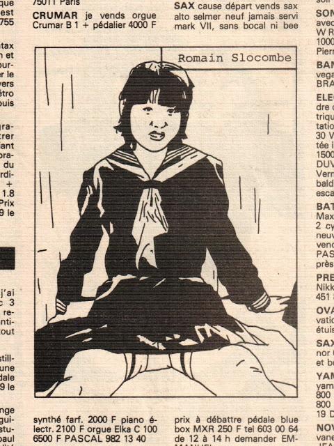 Illustrations de Romain Slocombe, Sandwich, 22 novembre 1980