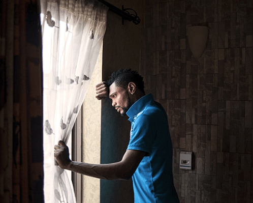 Régis Samba-Kounzi, Steve, quartier de Kintambo, Kinshasa RDC, 2015