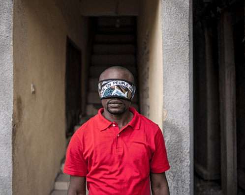 Régis Samba-Kounzi, Vincent, quartier de Limete, KinshasaRDC, 2015