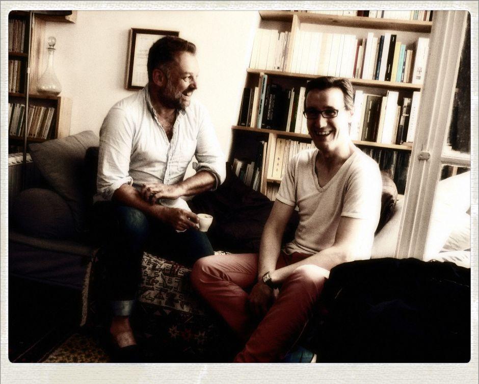 Fabien Vallos et Antoine Dufeu