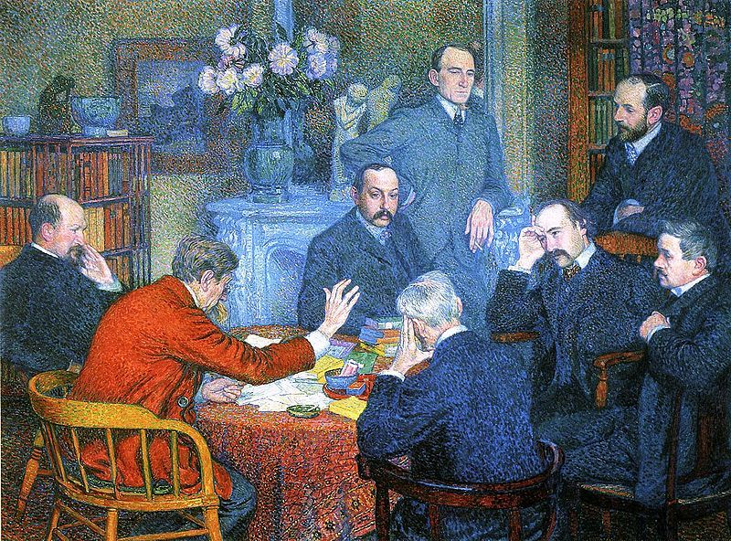 Théo van Rysselberghe, Une Lecture (1903)