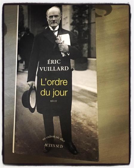 L'ordre Du Jour Eric Vuillard : l'ordre, vuillard, Vuillard,, Goncourt, L'ordre