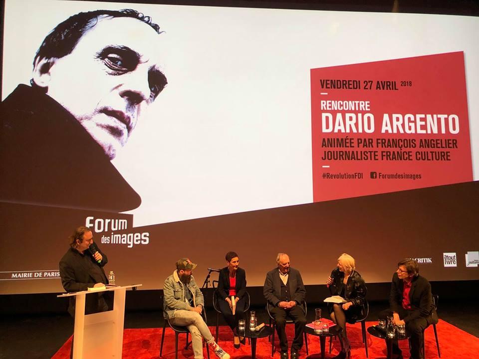 Dario Argento : l'intégralité de la rencontre au Forum des images