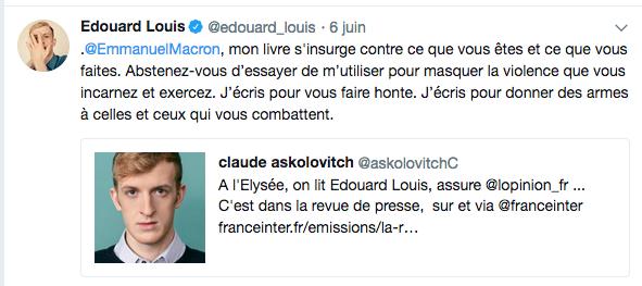 Chroniques littéraires du Pirée : Baiser venimeux (Édouard Louis)