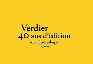 Les 40 ans de Verdier au centre Pompidou, ce soir à 19h