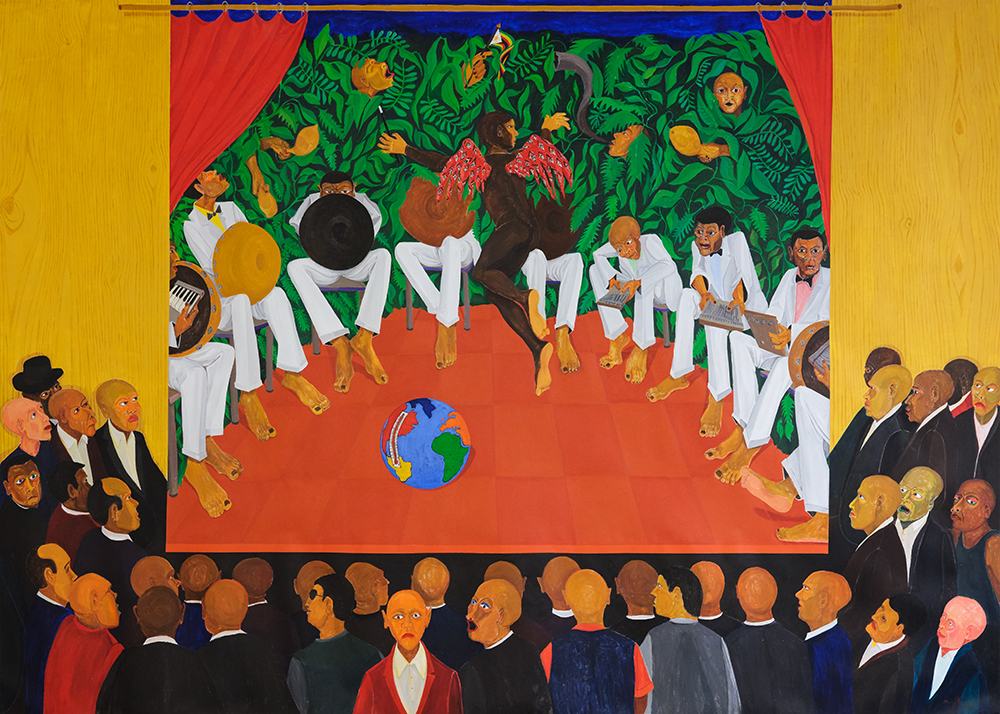Richard Mudariki : points de vue sur le monde (galerie Polaris, du 12 octobre au 17 novembre)