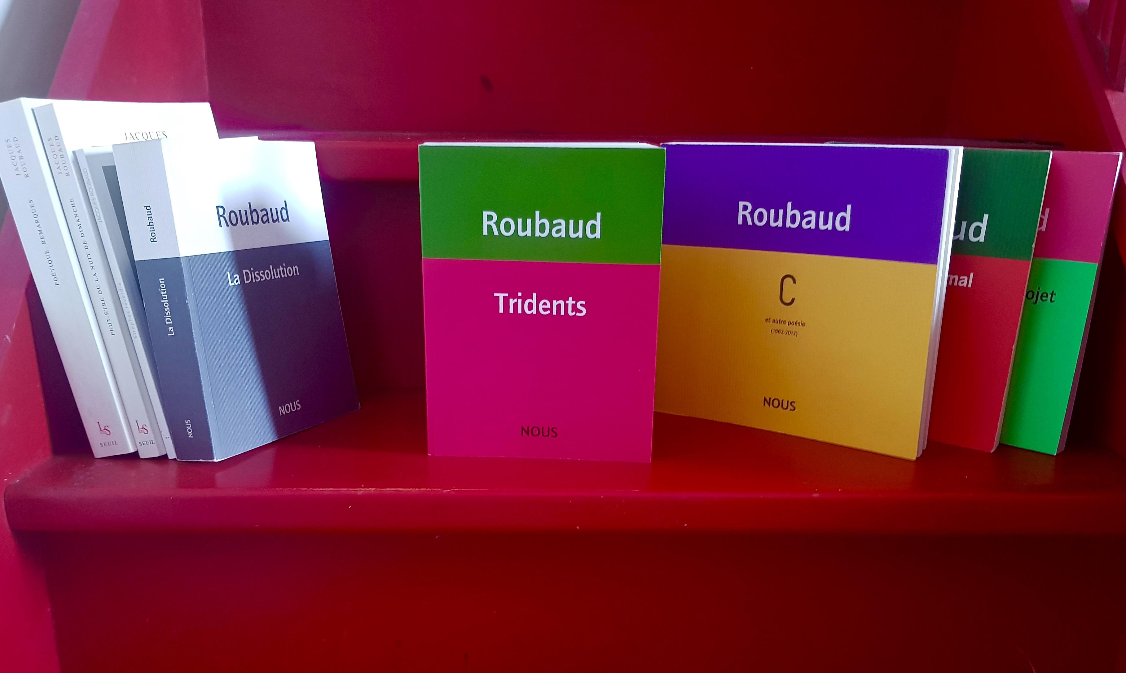 Jacques Roubaud : «avec le 'trident' ⊗  j'expérience la vie d'une forme» (Tridents)