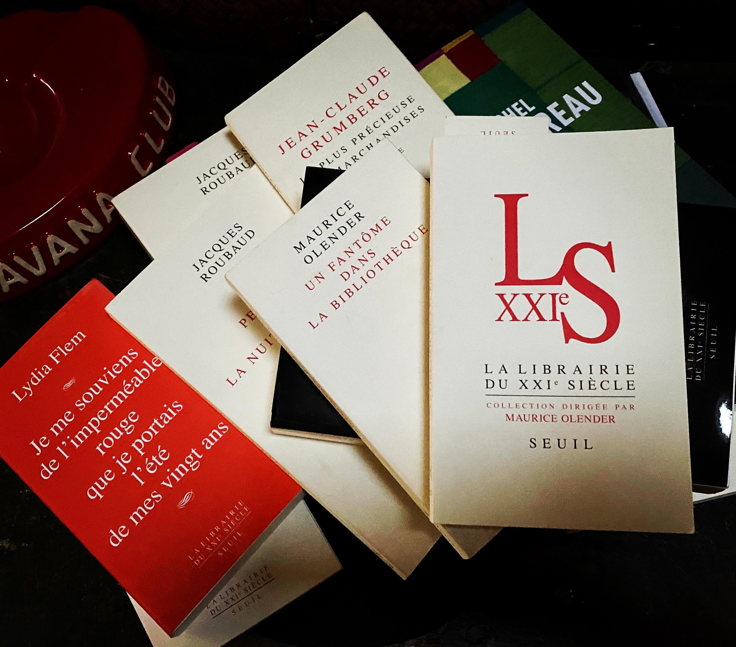 Maurice Olender et la Librairie du XXIe siècle: rencontre Centre Pompidou (9 décembre 2019)